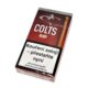 Doutníky Colts Filter Ruby, 10ks-Doutníky Colts Filter Ruby s příchutí cherry. Cigarillos s filtrem jsou balené po 10 doutníčkách v papírové krabičce. Délka 90mm, průměr 8,5mm. Balení: 10 ks krabiček.