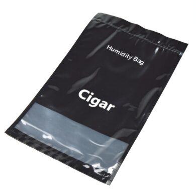 Zvlhčovací sáček na doutníky plastový, uzavíratelný(059980)