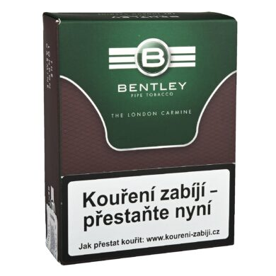Dýmkový tabák Bentley The London Carmine, 50g  (3271)