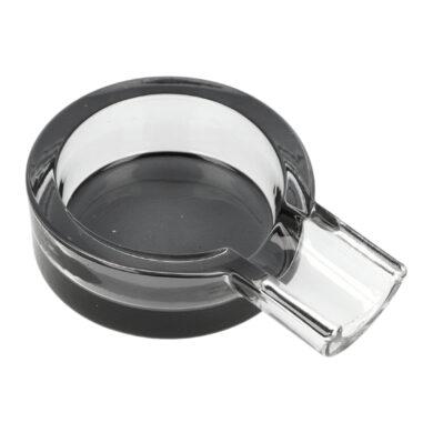 Doutníkový popelník skleněný kulatý 1D(421170)