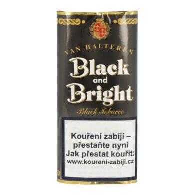 Dýmkový tabák Black and Bright, 50g(00100)