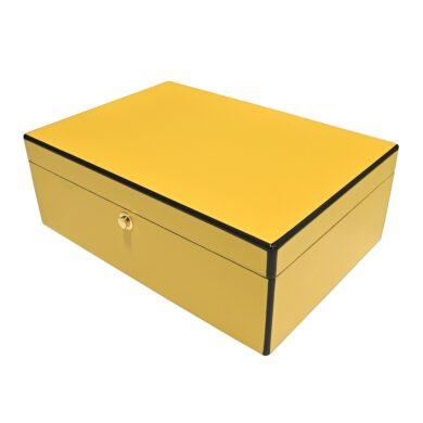 Humidor na doutníky Yellow(92018)