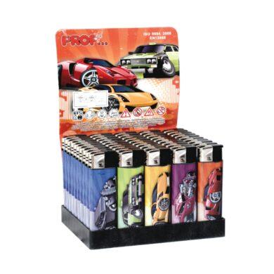 Zapalovač Prof Piezo Poppy Cars(803665)
