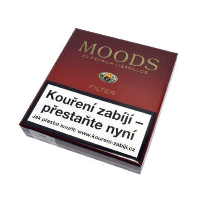 Doutníky Dannemann Moods Filter, 20ks(418100)
