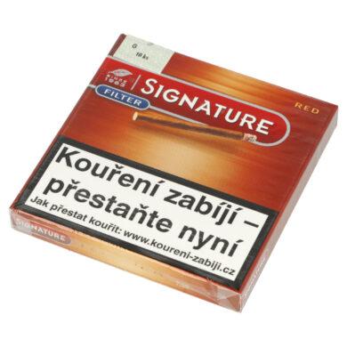 Doutníky Cafe Creme Filter Red, 10ks(102342011T)