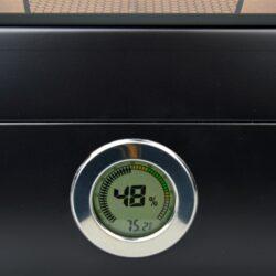 Humidor na doutníky Lamborghini Monte Carlo černý prosklený 50D, stolní(918001)