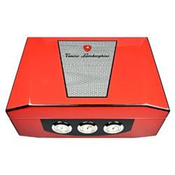 Humidor na doutníky Lamborghini Monte Carlo červený 50D, stolní(918010)