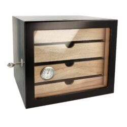 Humidor na doutníky Angelo Cabinett Black(920008)