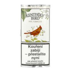 Dýmkový tabák Kentucky Bird, 50g-Dýmkový tabák Kentucky Bird. Slabší tabáková směs vhodná nejen pro začínajícího kuřáka je tvořená kombinací Burley tabáků z Tennessee a tabáku virginského s přidáním okvětních lístků růží. Balení pouch 50g.