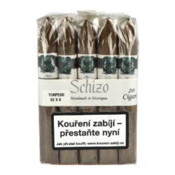 Doutníky Asylum Schizo Torpedo 6x52, 20ks(4999555)