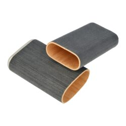 Pouzdro na 3 doutníky Angelo Veneer Wood, 140mm(813040)