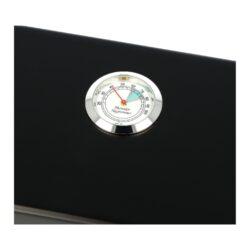 Humidor na doutníky Angelo černý matný, 20x11x4,5cm(920044)