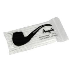 Čističe dýmek Angelo bílé, 15cm, 100ks-Bílé dýmkové čističe Angelo. Čističe jsou dlouhé 15 cm. Čističe dýmek jsou balené po 100 ks.