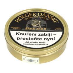 Dýmkový tabák Holger Danske Black, 100g-Kvalitní a oblíbený dýmkový tabák Holger Danske Black. Balení plechová krabička 100g.