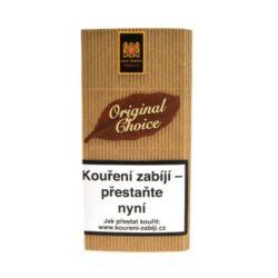Dýmkový tabák Mac Baren Original Choice, 40g-Velmi kvalitní a oblíbený dýmkový tabák Mac Baren. Směs je namíchána z jemného Burley, virginského tabáku s jemnou a čistou přírodní chutí. Tato směs je vhodná pro začínající a mladé kuřáky. Balení pouch 40g.
