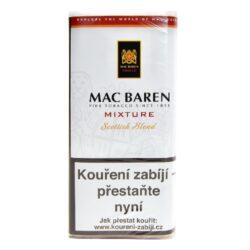 Dýmkový tabák Mac Baren Mixture, 50g-Velmi kvalitní a oblíbený dýmkový tabák Mac Baren. Vyvážená směs tabáku Burley, Virginie a Cavendishe s lehkým příjemným aroma. Balení pouch 50g.