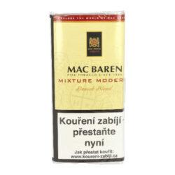 Dýmkový tabák Mac Baren Mixture Modern, 50g-Velmi kvalitní a oblíbený dýmkový tabák Mac Baren. Jemně sladká směs z virginských tabáků, jemného červeného Cavendishe a ostře řezaného Burley, která neštípe na jazyku. Balení pouch 50g.