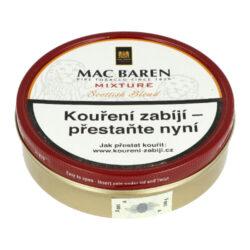 Dýmkový tabák Mac Baren Mixture, 100g-Velmi kvalitní a oblíbený dýmkový tabák Mac Baren. Vyvážená směs tabáku Burley, Virginie a Cavendishe s lehkým příjemným aroma. Balení plechová krabička 100g.