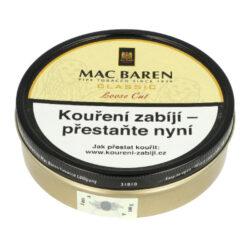 Dýmkový tabák Mac Baren Vanilla Cream, 100g-Velmi kvalitní a oblíbený dýmkový tabák Mac Baren. Směs z vybraných druhů zralého tabáku Virginie a jemného černého Cavendishe s velmi příjemným vanilkovým aroma a sladkou chutí. Balení plechová krabička 100g.