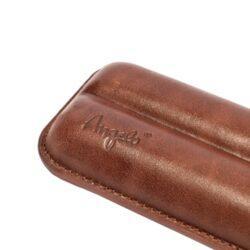 Pouzdro na 2 doutníky Etue, hnědé, 160mm(81220)