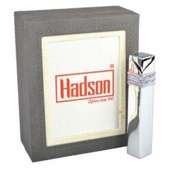 Dámský zapalovač Hadson Square, chrom, fialové kamínky Swarovski(10208)
