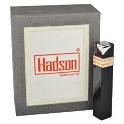 Dámský zapalovač Hadson Square, černý, žluté kamínky Swarovski(10212)