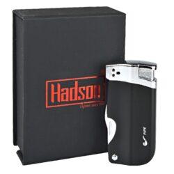 Dýmkový zapalovač Hadson Pipe Multi, černý(10331)