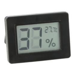 Vlhkoměr digitální, 50x36x12mm-Jednoduchý malý digitální vlhkoměr, kterým přesně zjistíte okamžitou vlhkost v humidoru. Na displeji se zobrazuje aktuální vlhkost a teplota (°C/°F). Bateriový provoz. Rozměr: 50x36x12 mm.
