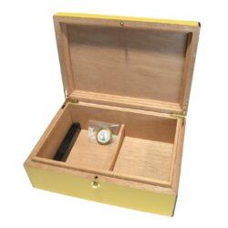 Humidor na doutníky Yellow 20D, stolní(92018)