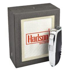 Tryskový zapalovač Hadson Elegance, matný černý(10250)