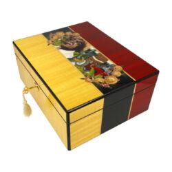 Humidor na doutníky Highgloss Cigarman 30D, stolní(92023)