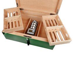Humidor na doutníky Villa Spa zelený(6029)
