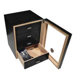 Humidor na doutníky Cabinett černý 70D, stolní(920670)