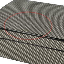 Doutníkový Humidor Set Carbon(569171)