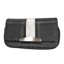 SLEVA 29% Pouzdro na 2 dýmky Etue černé, nylon-SLEVA 29%!  - zip je funkční, pouze lehce drhne. Pouzdro (Etue) na 2 dýmky se zipem, vnitřní kapsou na kuřácké potřeby a odnímatelným pouchem na tabák. Pouzdro na dýmku je nylonové.