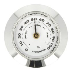 Náhradní vlhkoměr Angelo pro humidory 920040, kulatý, 29mm-Náhradní vlhkoměr Angelo pro humidory 920040. Provedení: lesk chrom. Vnější průměr: 29 mm Vnitřní průměr pro vložení: 25 mm