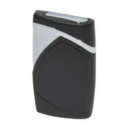 Tryskový zapalovač Eurojet Monza, černý-Tryskový zapalovač. Zapalovač je plnitelný. Výška 6,5 cm. Tryskový zapalovač je dodáván v dárkové krabičce.