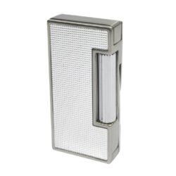 Dýmkový Zapalovač Winjet Buchs, stříbrný-Dýmkový kamínkový zapalovač. Obsahuje integrované dusátko. Dýmkový zapalovač je plnitelný. Výška 6,5 cm.