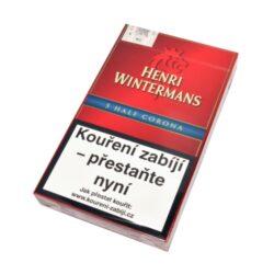 Doutníky Henri Wintermans Half Corona, 5ks-Doutníky Henri Wintermans Half Corona. Doutníky jsou balené po 5 doutnících v papírové krabičce. Délka 105mm, průměr 13,5mm. Balení: 5 ks krabiček.