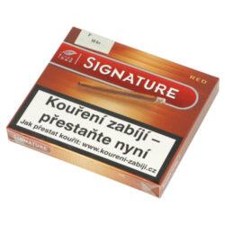 Doutníky Cafe Creme Red, 10ks-Doutníky Cafe Creme Red. Cigarillos jsou balené po 10 doutníčkách v papírové krabičce. Délka 75mm, průměr 8,5mm. Balení: 10 ks krabiček.