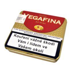 Doutníky Vegafina Original Mini, 20ks-Doutníky Vegafina Original Mini. Cigarillos jsou balené po 20 doutníčkách v plechové krabičce. Balení: 5 ks krabiček.