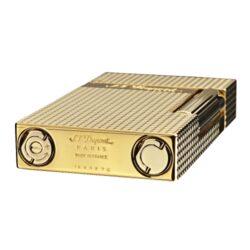 Zapalovač S.T. Dupont Ligne 2 plate care, zlatý(261662)