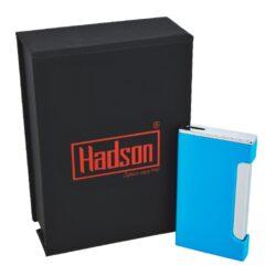 Tryskový zapalovač Hadson Lucca, modrý(10227)